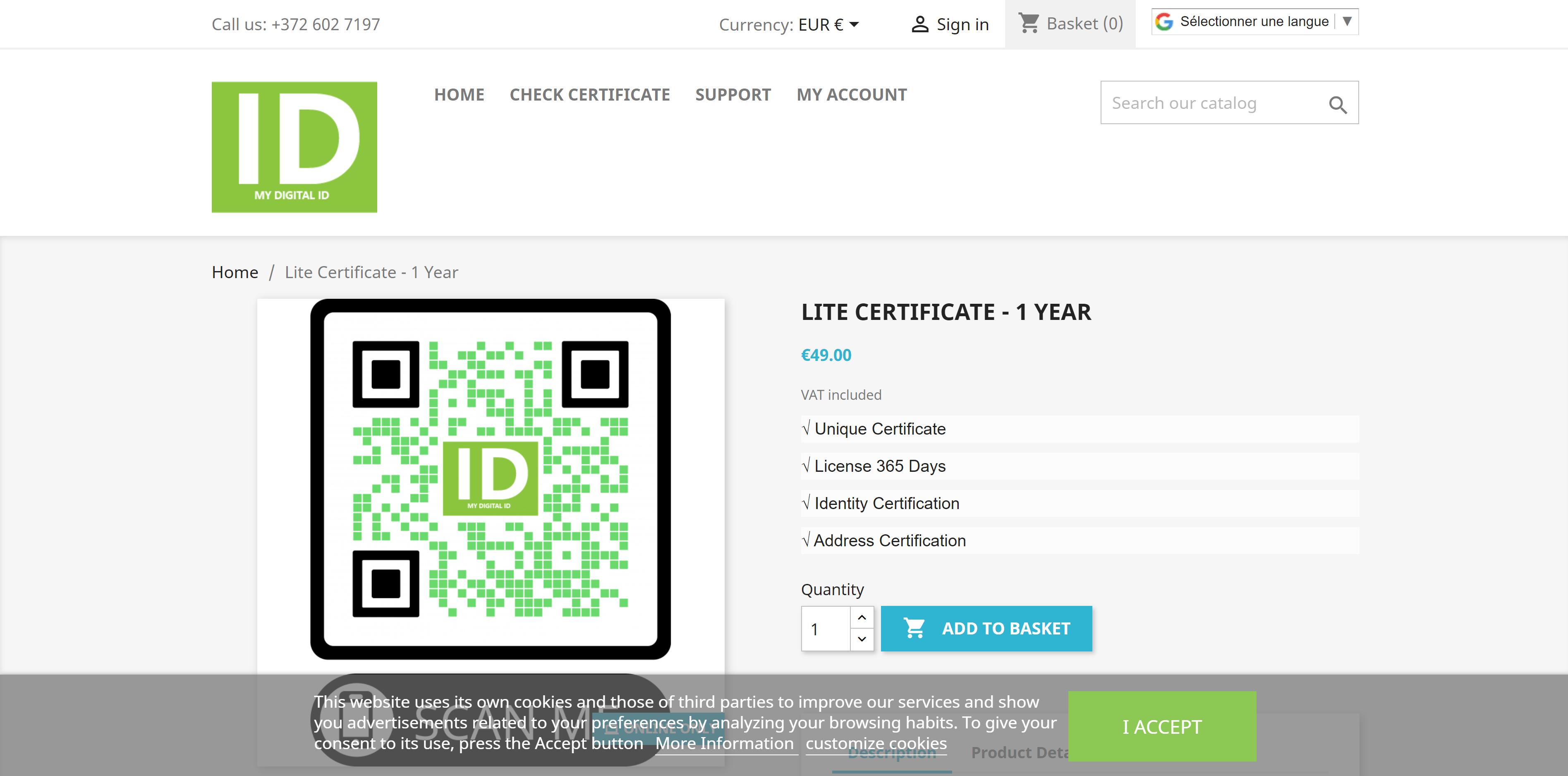 QR कोड डिजिटल आइडेंटिटी सर्टिफिकेशन Covid-19 डिजिटल पासपोर्ट डिस्कवर IDST वर्ल्ड